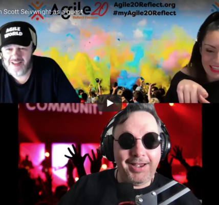 Agile World S1 E3 with Karl Smith and Sabrina C E Bruce and guest Scott Seivwright