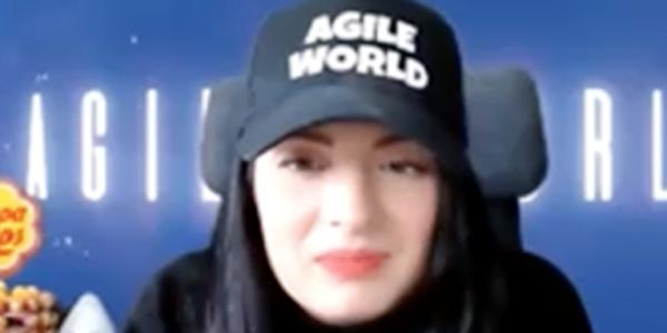 Sabrina C E Bruce Agile World Co Host