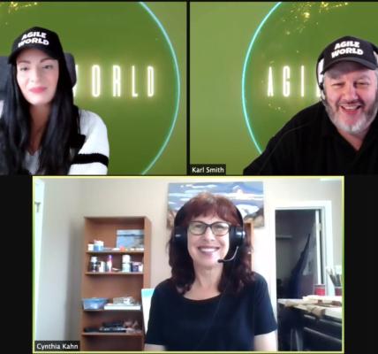 Interviewing Cynthia Kahn on Agile World S3 E5