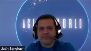 Agile World Co Host Jatin Sanghavi
